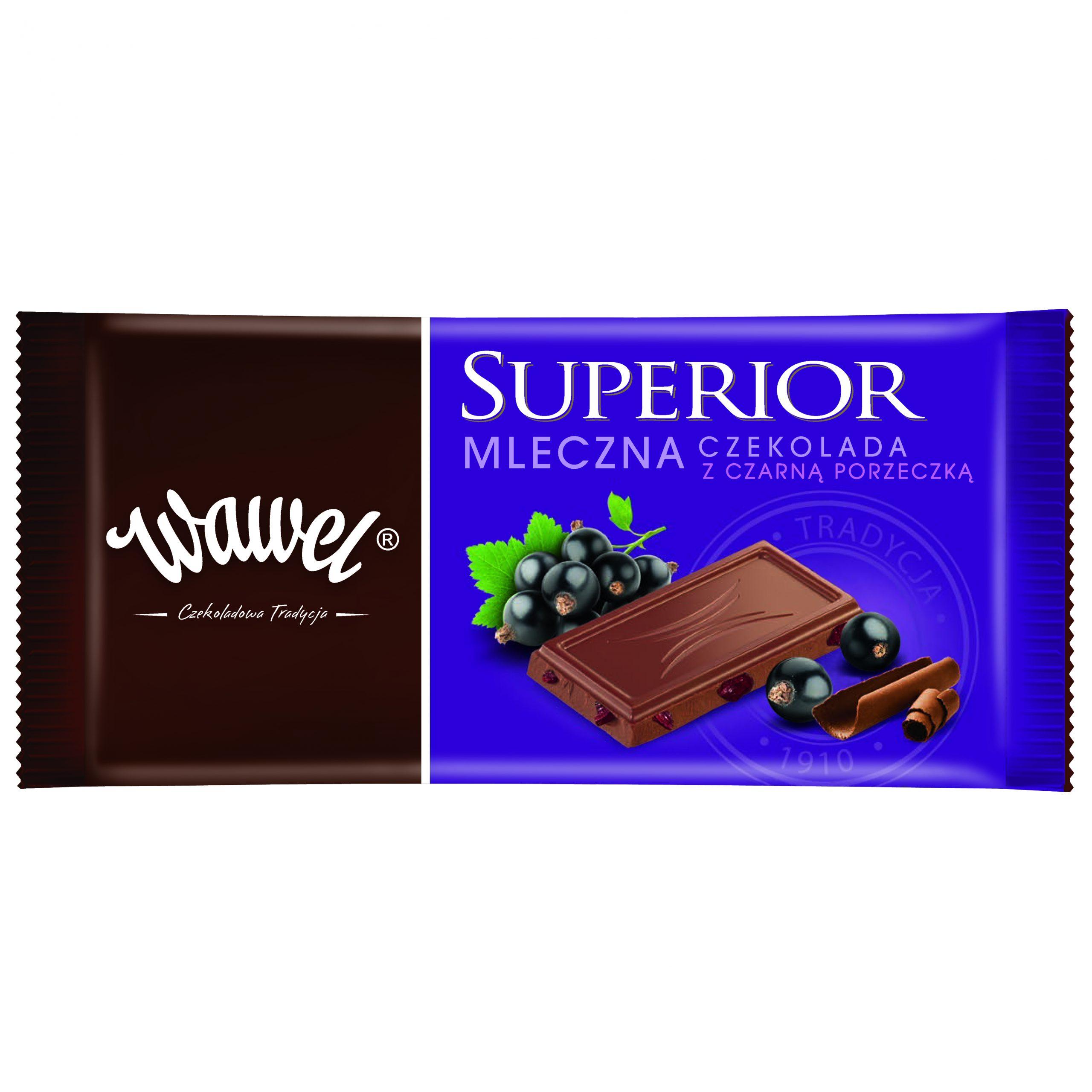 Superior – nowa linia czekolad z Wawelu
