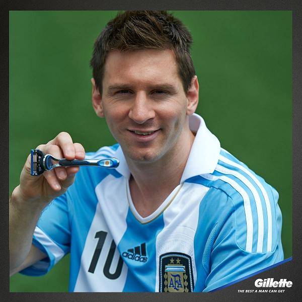 Messi globalnym ambasadorem marki Gillette