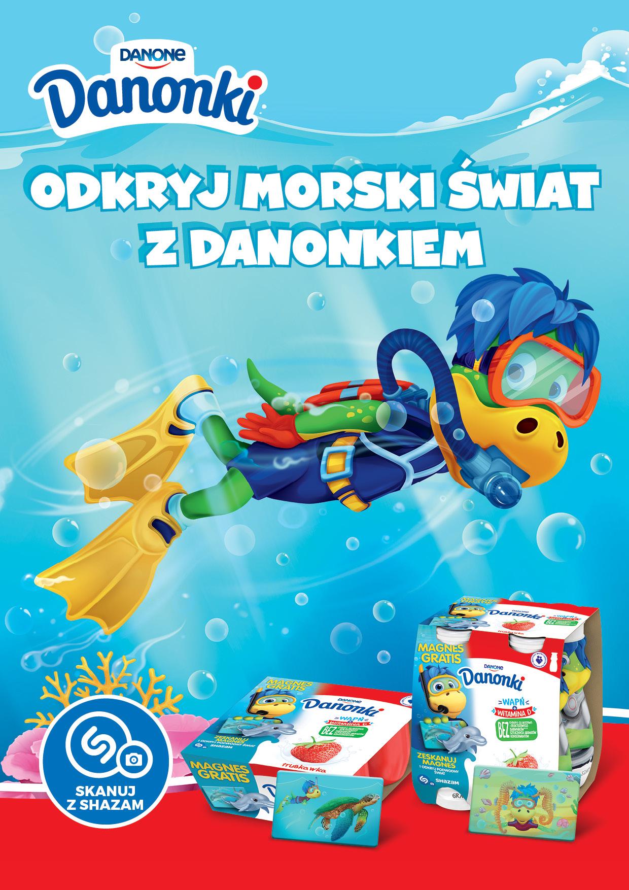Odkrywaj morski świat z Danonkiem