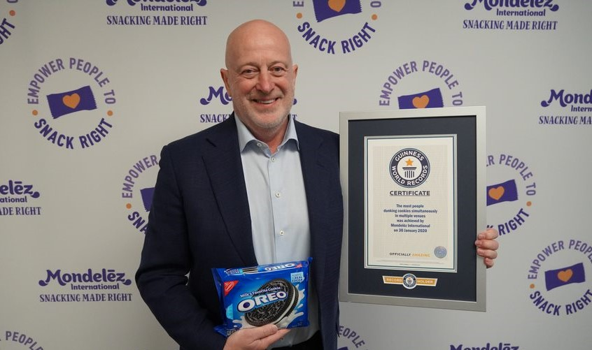 Mondelēz International ustanowił rekord Guinnessa