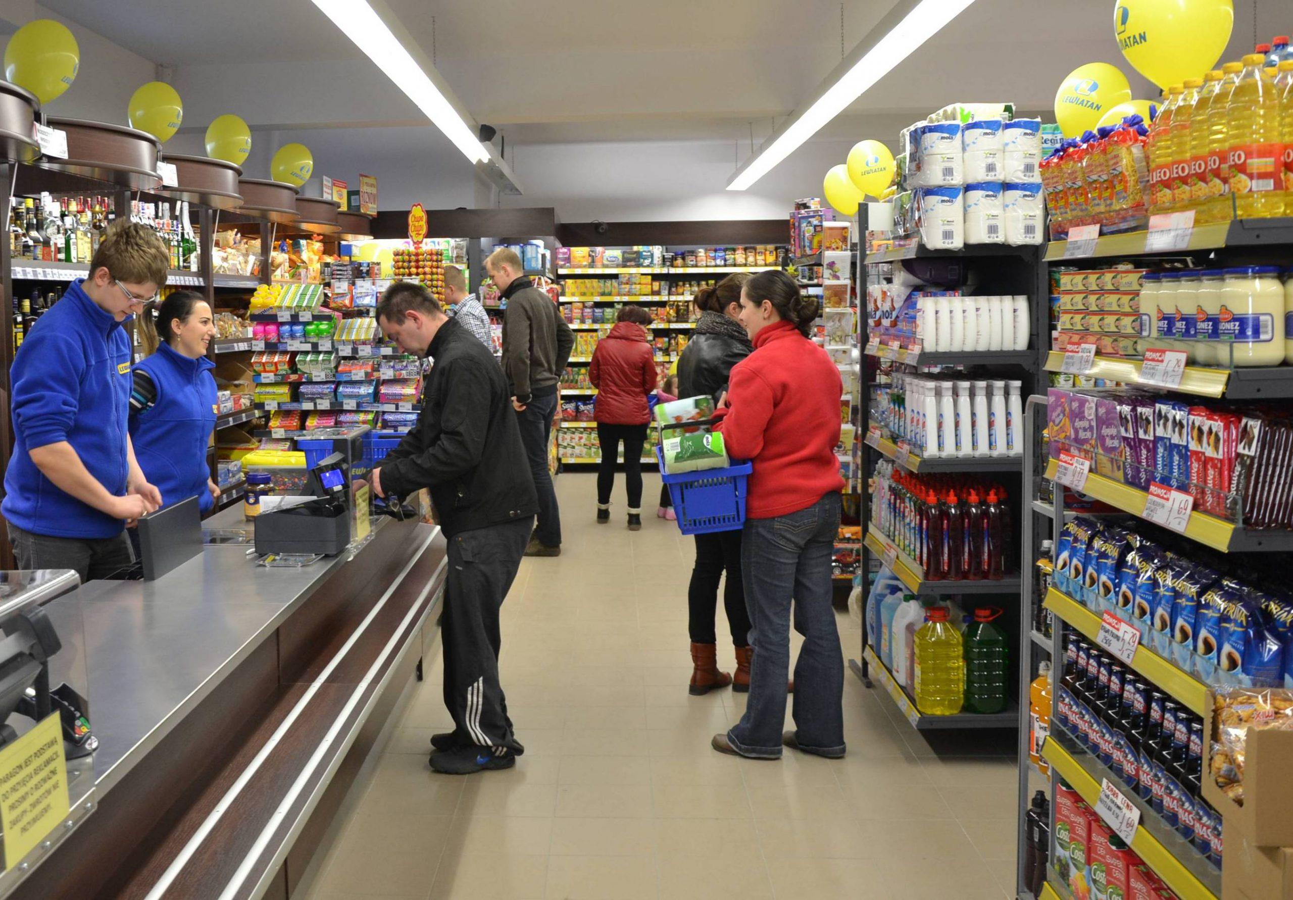 Nowy market sieci Lewiatan w Kobyłczynie