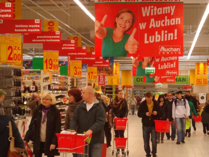 Auchan w Lublinie