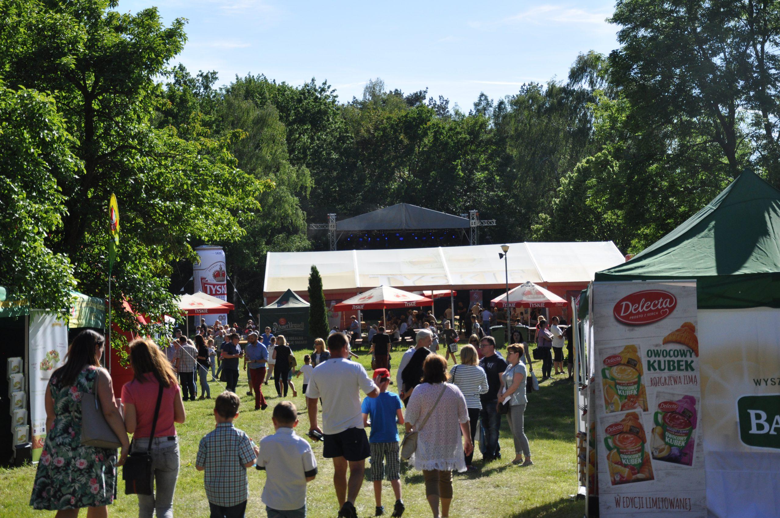 Udany piknik w Dziekanowicach