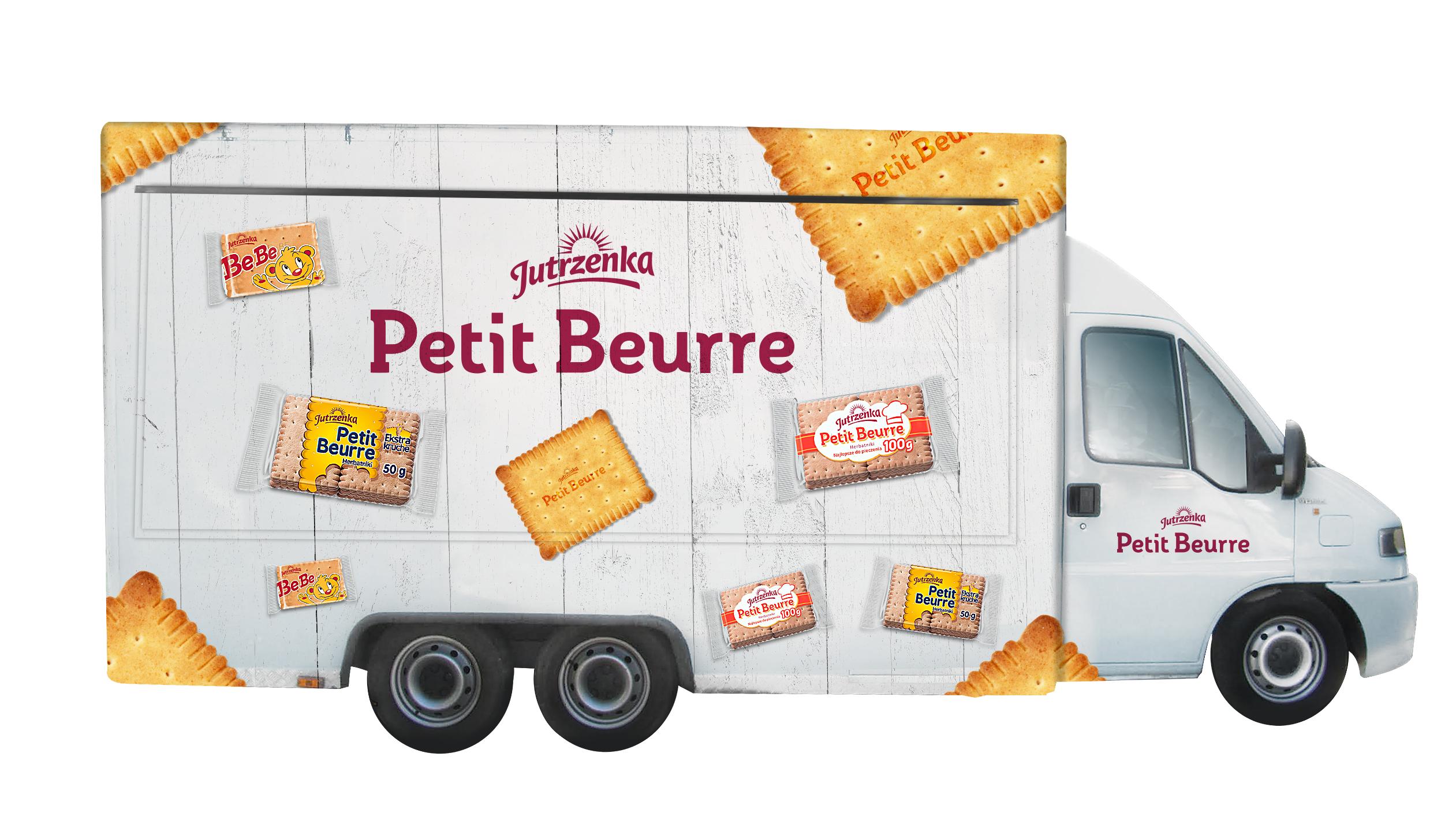 Food truck Petit Beurre Jutrzenka z tournée po Polsce