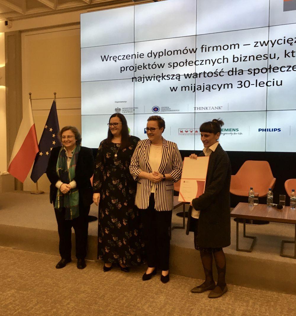 Inicjatywa marki Persil wśród najważniejszych projektów społecznych okresu transformacji w Polsce