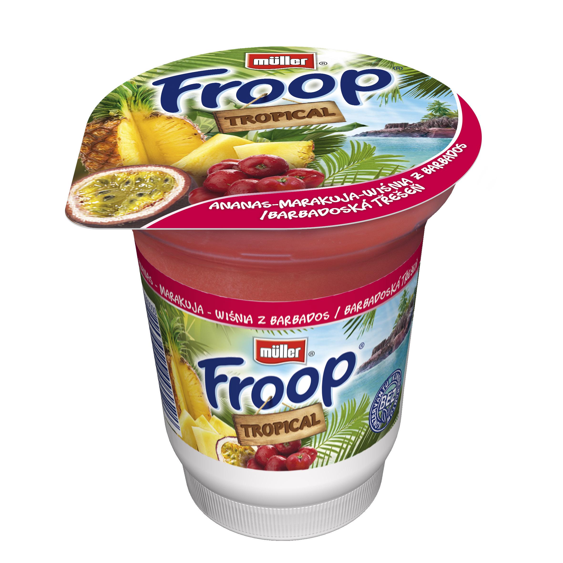 Froop Tropical – nowa gama Froop już na rynku