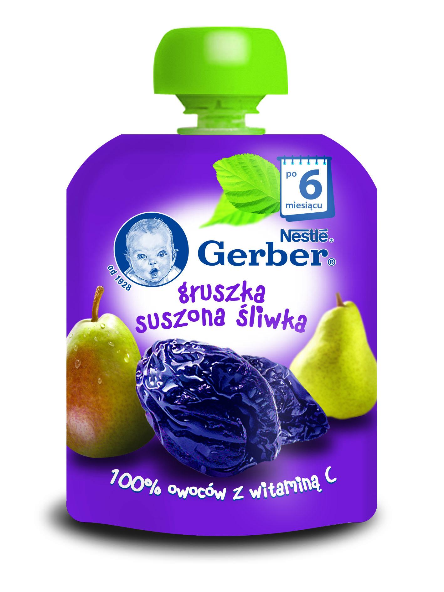Feeria barw w nowych deserkach owocowych Gerber