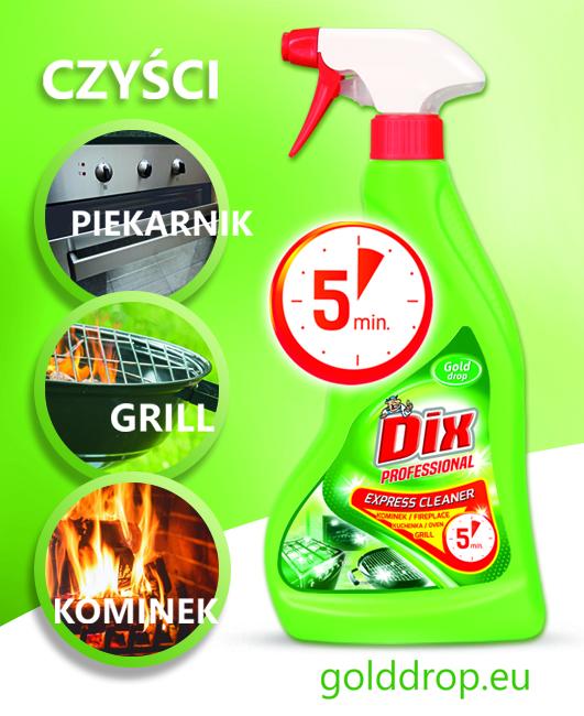 """Dix Professional Express cleaner"" firmy Gold Drop"