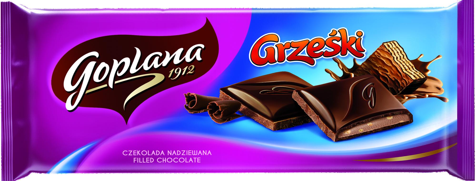 Nowości od Goplany – Grześki i Jeżyki zamknięte w tabliczce czekolady