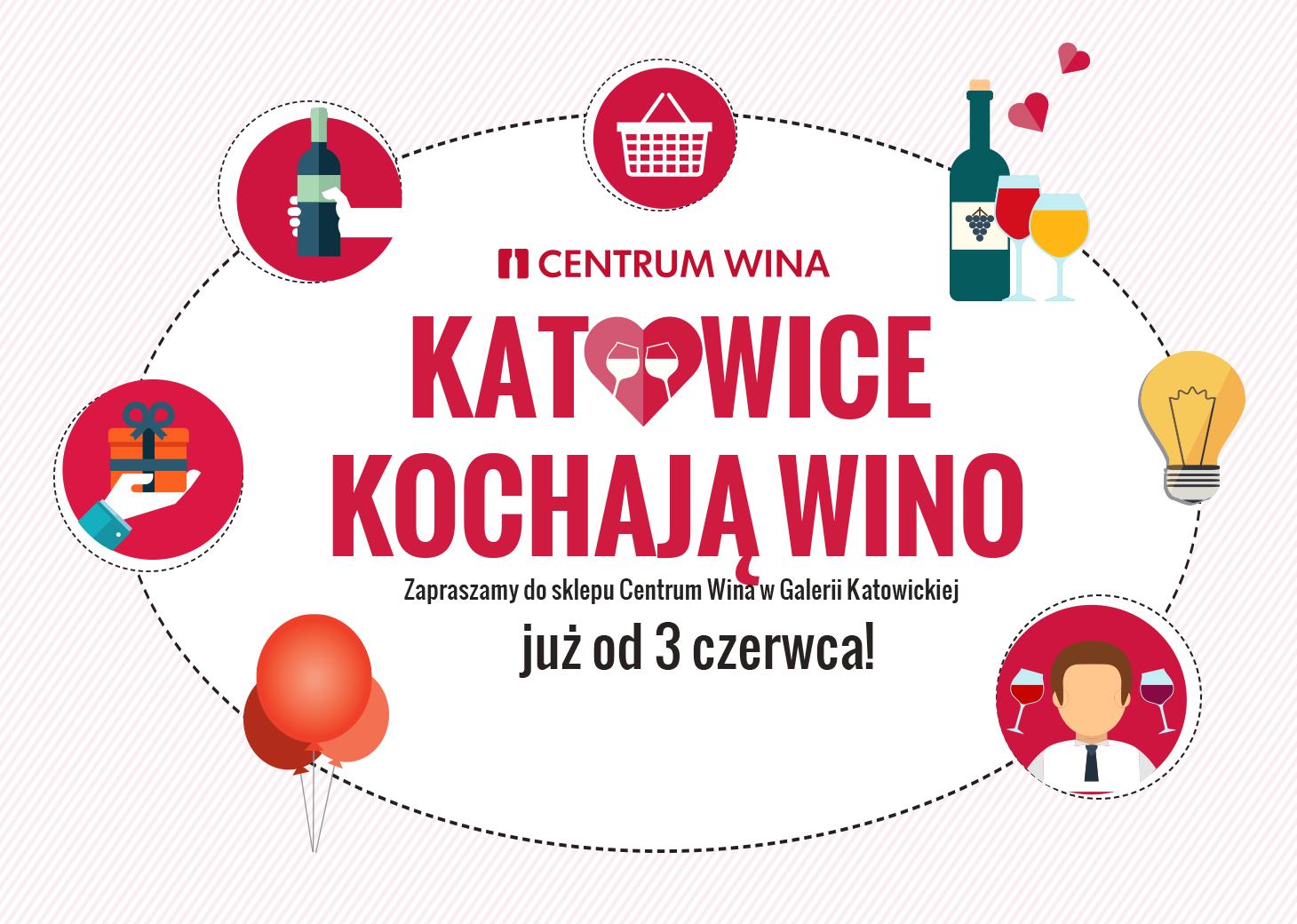 Centrum Wina otwiera drugi sklep w Katowicach