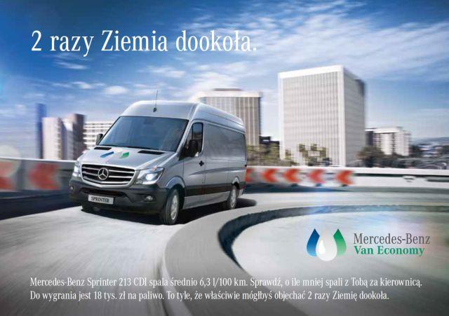 Trzecia edycja Grand Prix Mercedes-Benz Van Economy – tym razem Sprinter