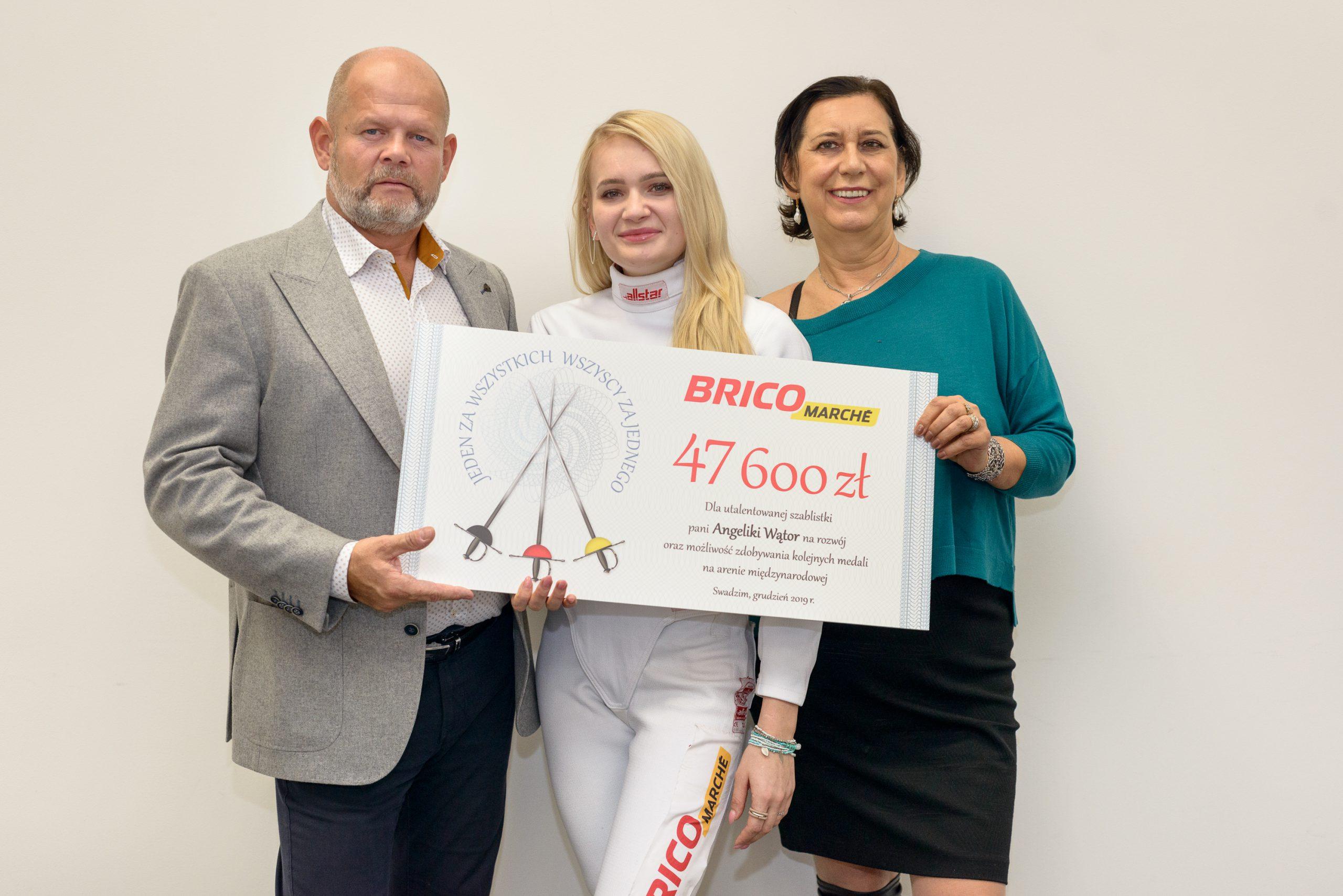 Bricomarché wsparło mistrzynię szabli – Angelikę Wątor