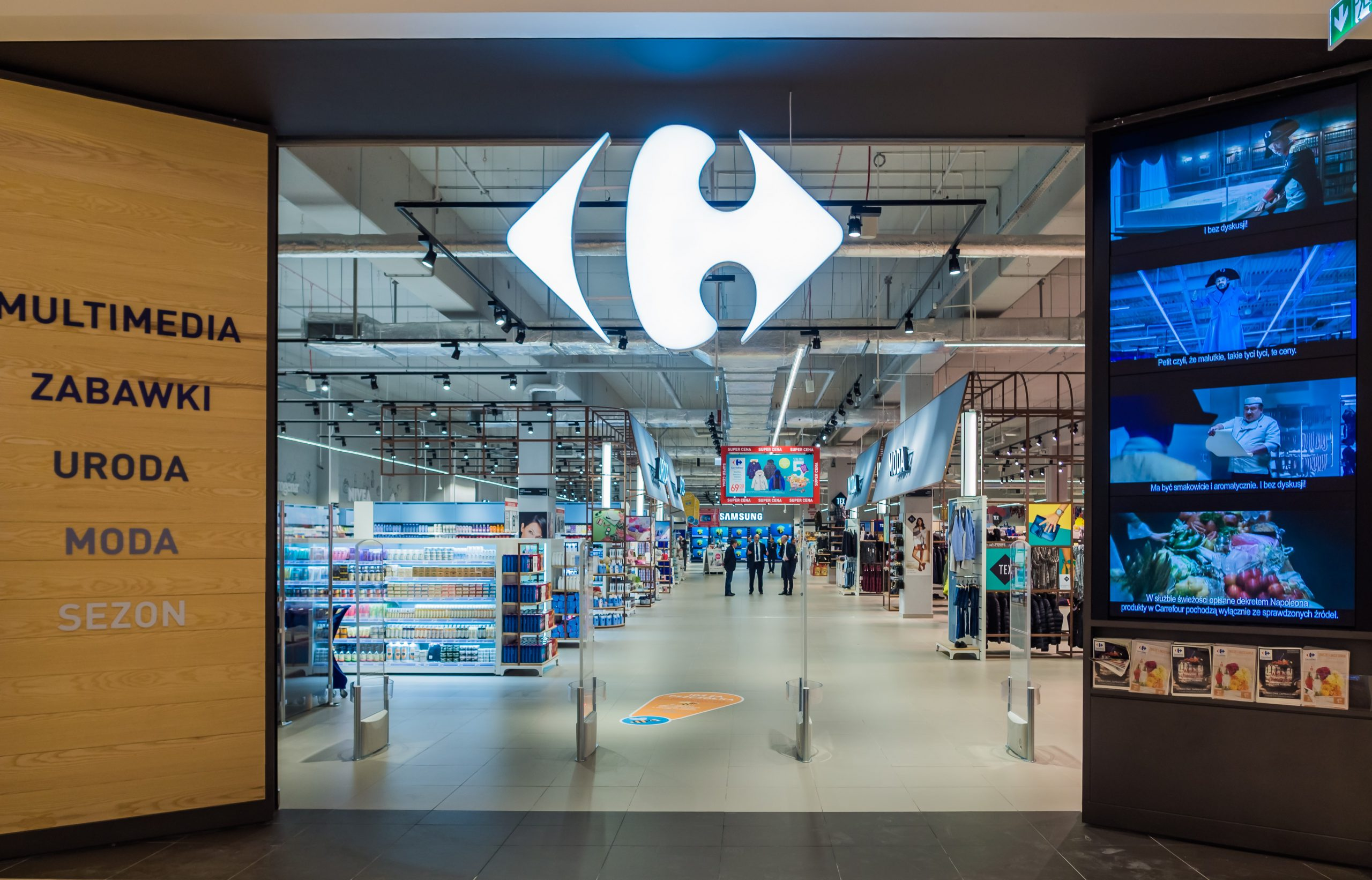 Carrefour w miejsce Tesco we Wrocławiu