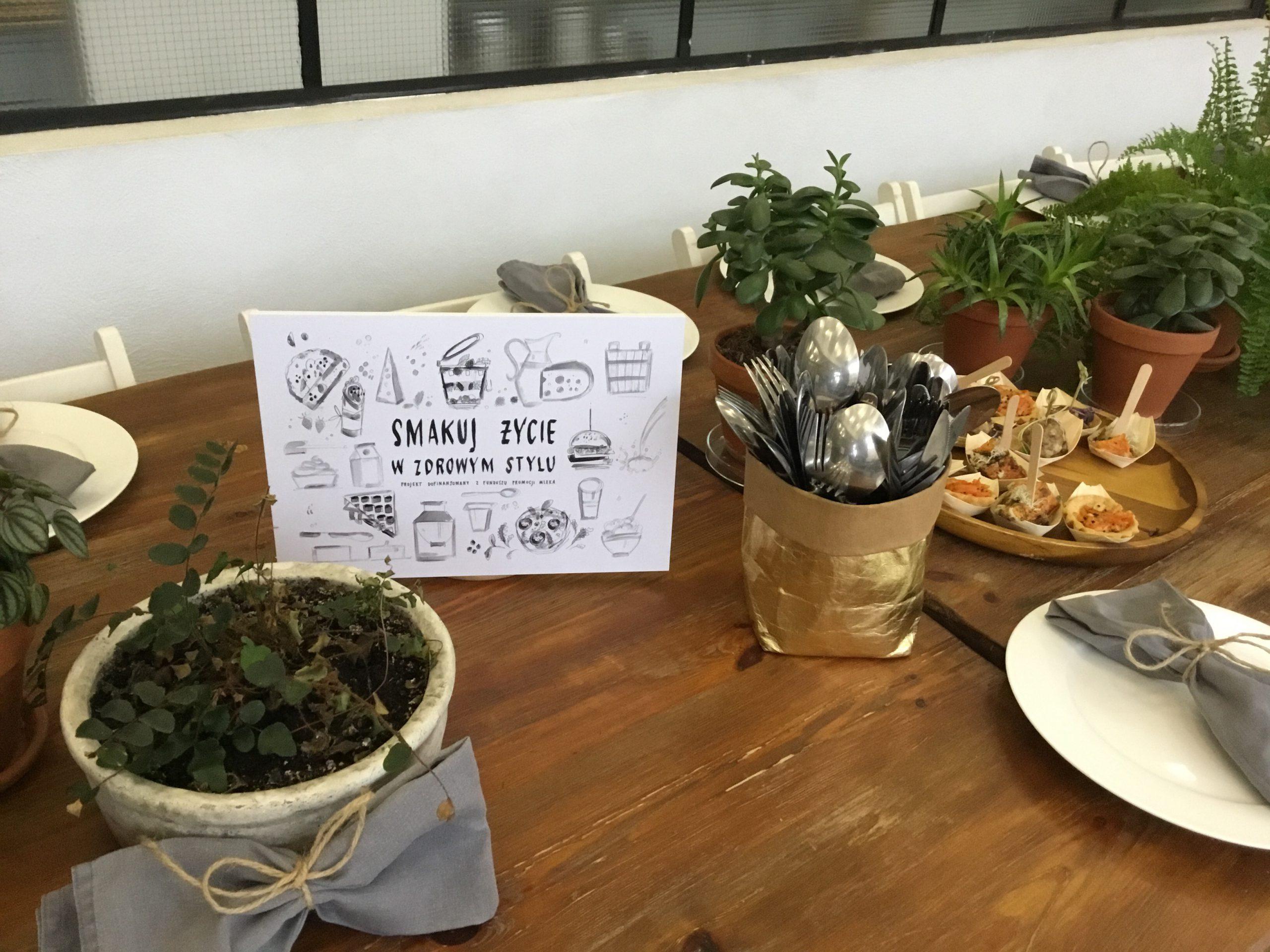 Smakuj życie w zdrowym stylu – projekt kulinarny przyGOTOWANY przez Lazur