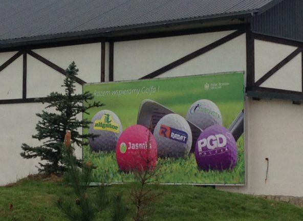 Sieci wspierają golfa
