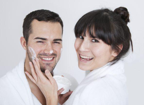 Nielsen: półka męskich kosmetyków
