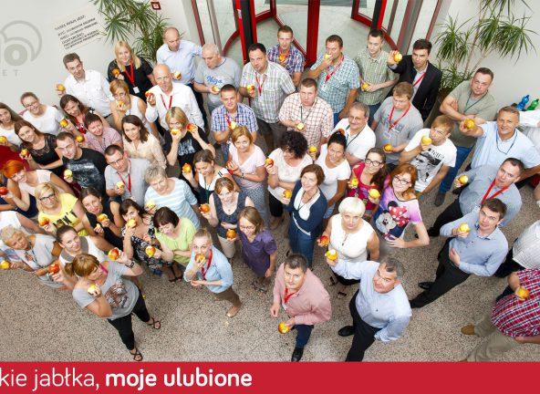 POLOmarket wspiera #jedzjabłka.pl