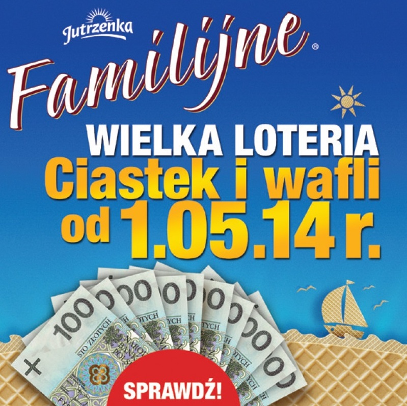Wakacyjna loteria marki Familijne