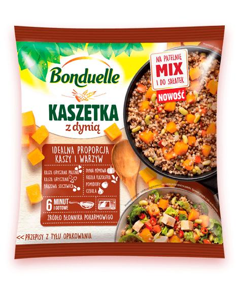 Kaszetka – kolejne 4 smaki kaszy z warzywami od Bonduelle