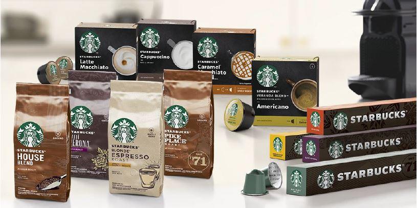 Nestlé wprowadza nową gamę produktów Starbucks