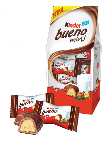 Kinder Bueno Mini – nowość od Kinder Bueno