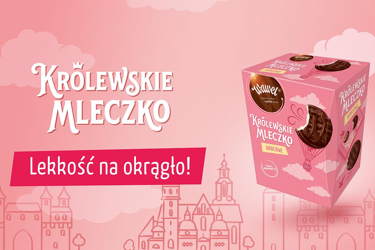 Królewskie Mleczko Waniliowe od marki Wawel