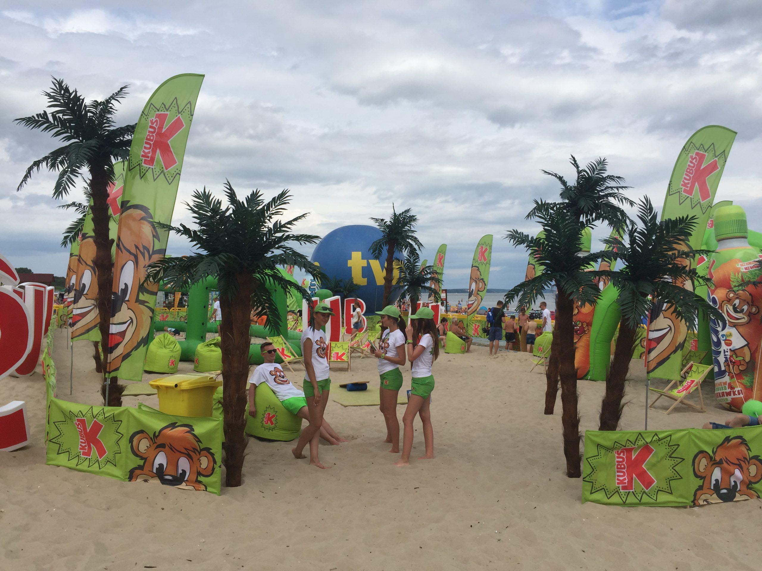 Kubuś zaprasza na plażę!