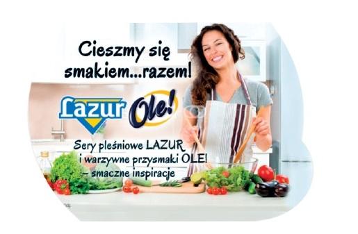 Karnawał smacznie i prosto z Lazurem i OLE!