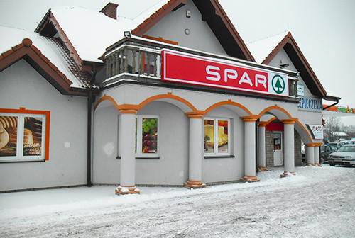 Sklep SPAR w Ołpinach