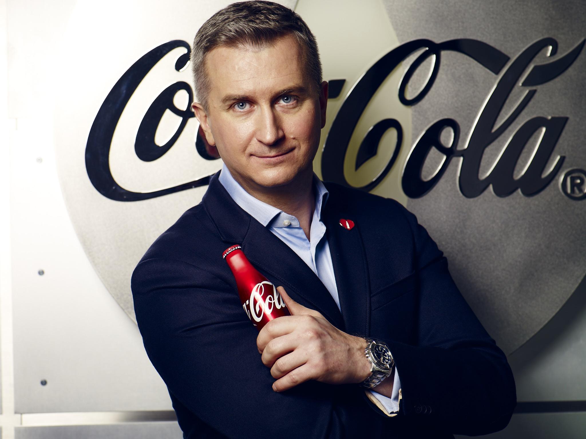 Mikołaj Ciaś Dyrektorem Marketingu w Coca-Cola Poland Services