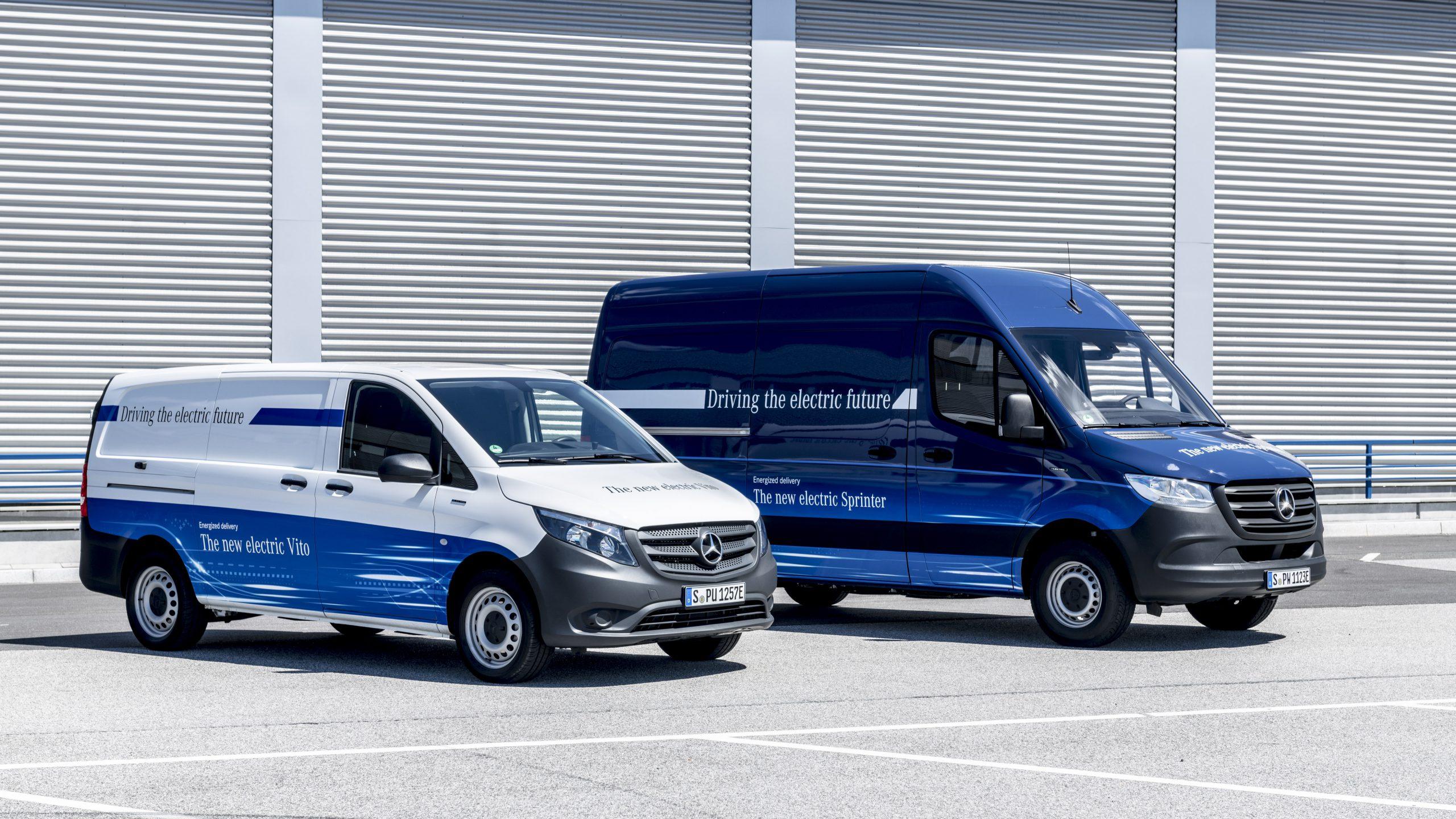 Mercedes rozszerza gamę elektrycznych aut dostawczych