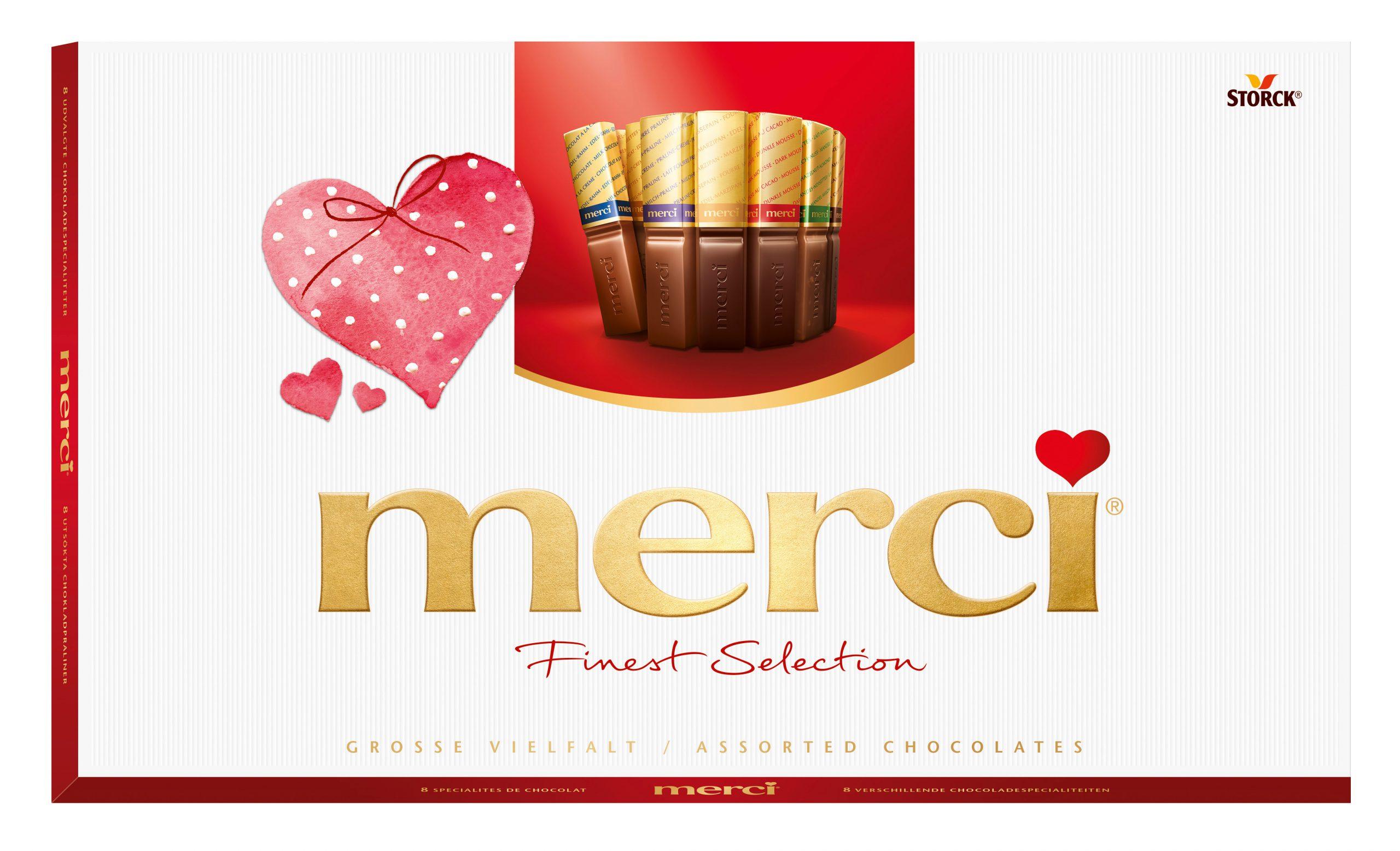 merci – słodki podarunek z sercem… od serca
