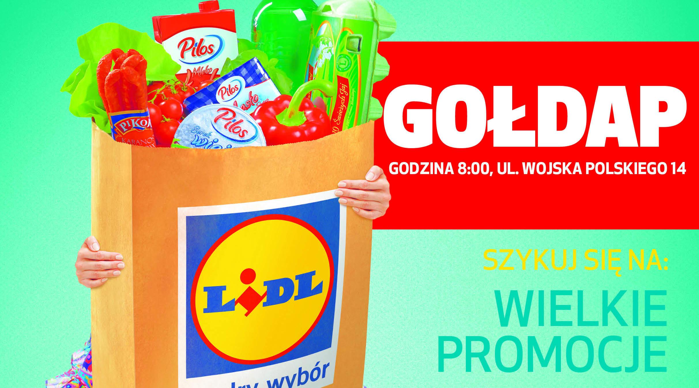 Pierwszy sklep sieci Lidl w Gołdapi