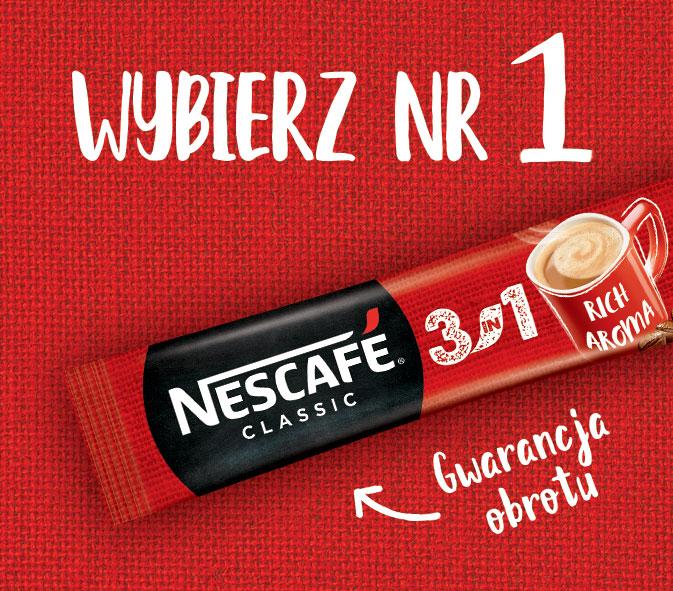 Kampania internetowa Nescafé 3in1