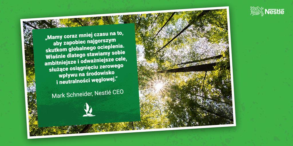Nestlé dla klimatu