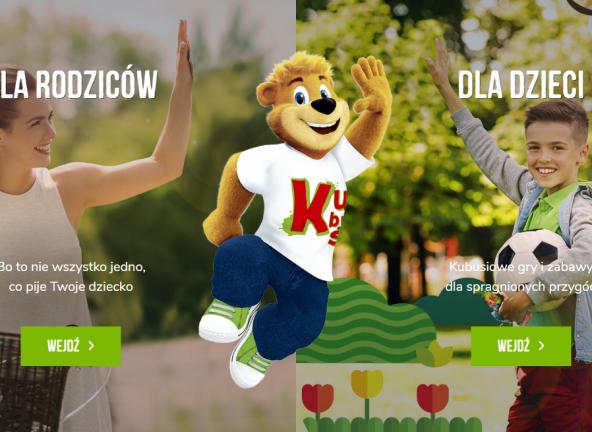 Nowa strona marki Kubuś