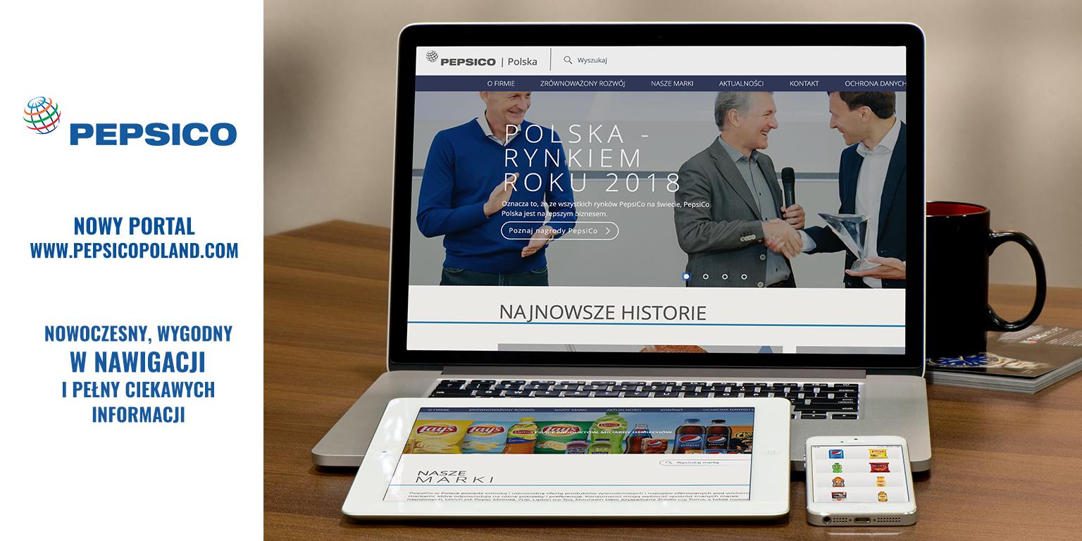 Nowa witryna internetowa PepsiCo w Polsce