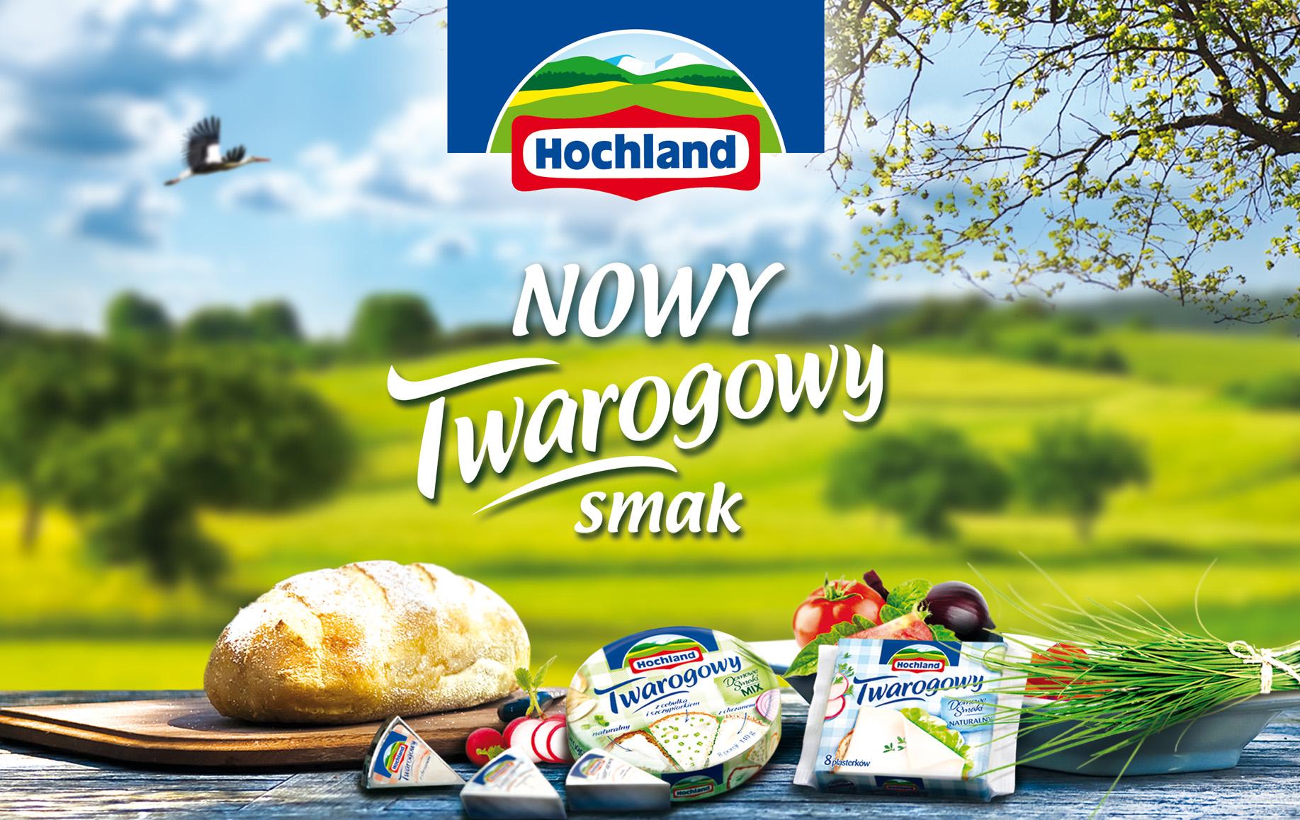 Hochland Twarogowy powraca