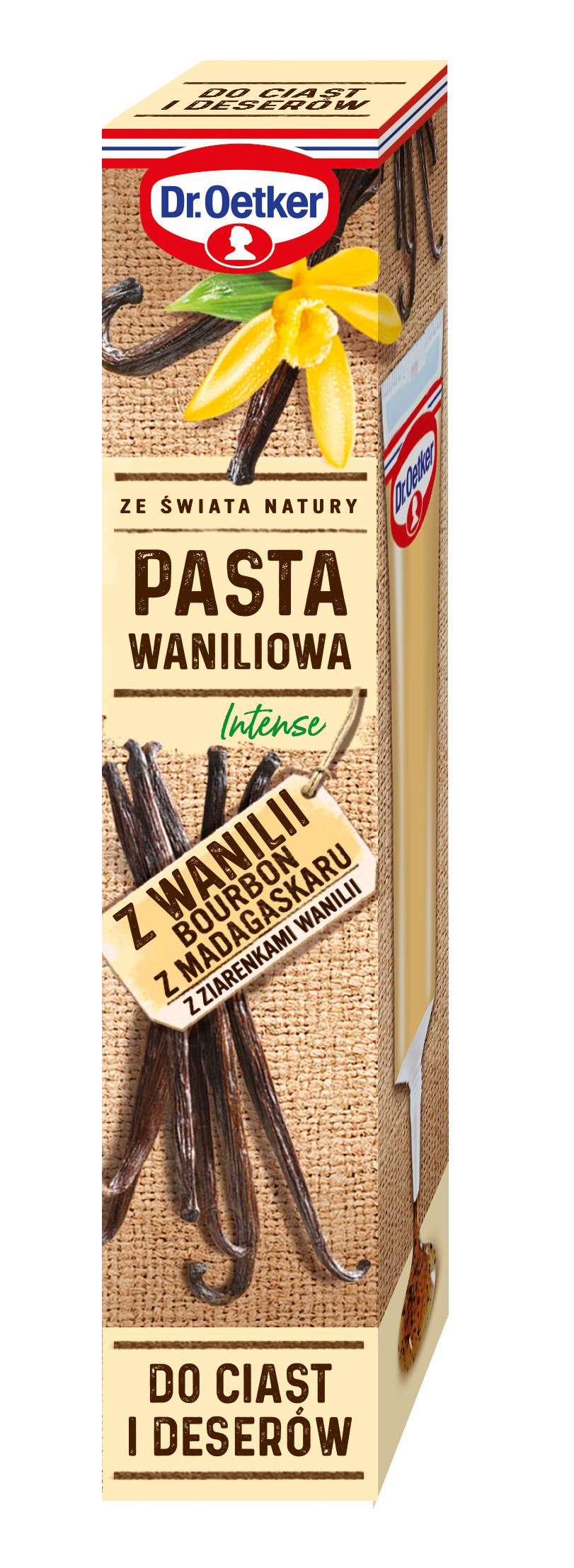 Pasta waniliowa Intense z wanilii Bourbon z Madagaskaru z ziarenkami