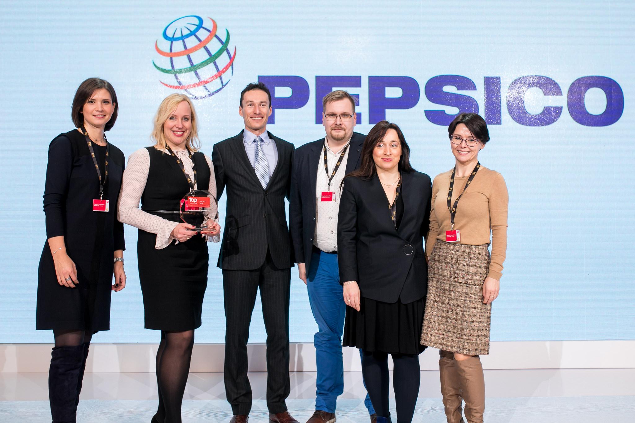 Podwójne podium dla PepsiCo w konkursie Top Employer