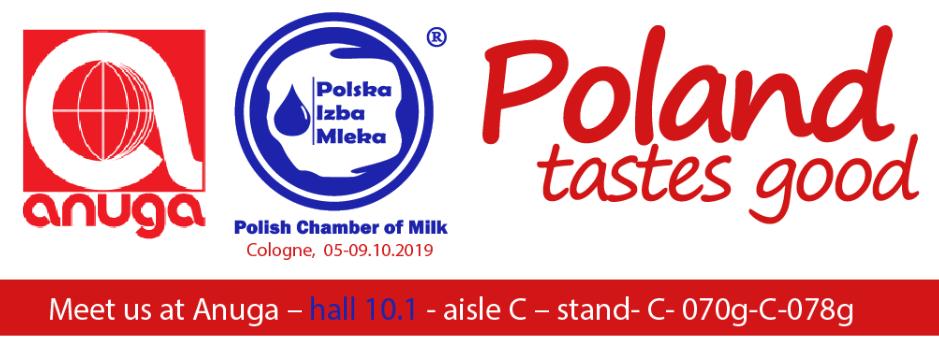 Członkowie Polskiej Izby Mleka na Targach Anuga 2019