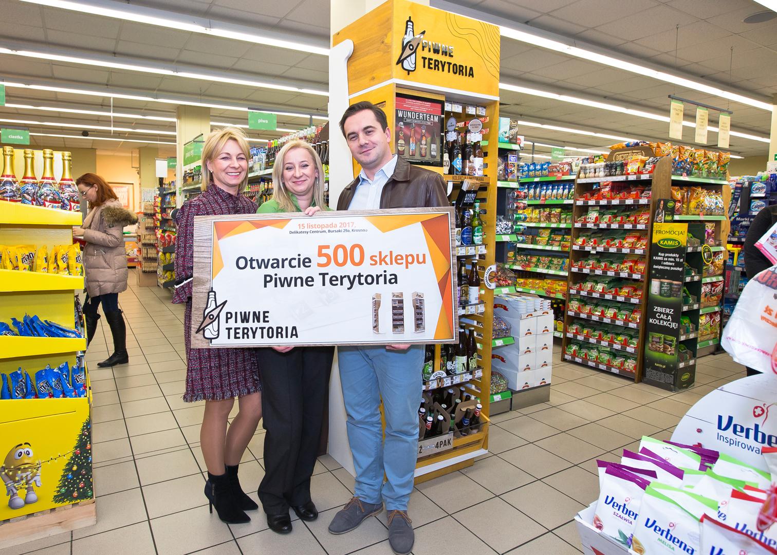 Piwne Terytoria już w 500 sklepach w całej Polsce