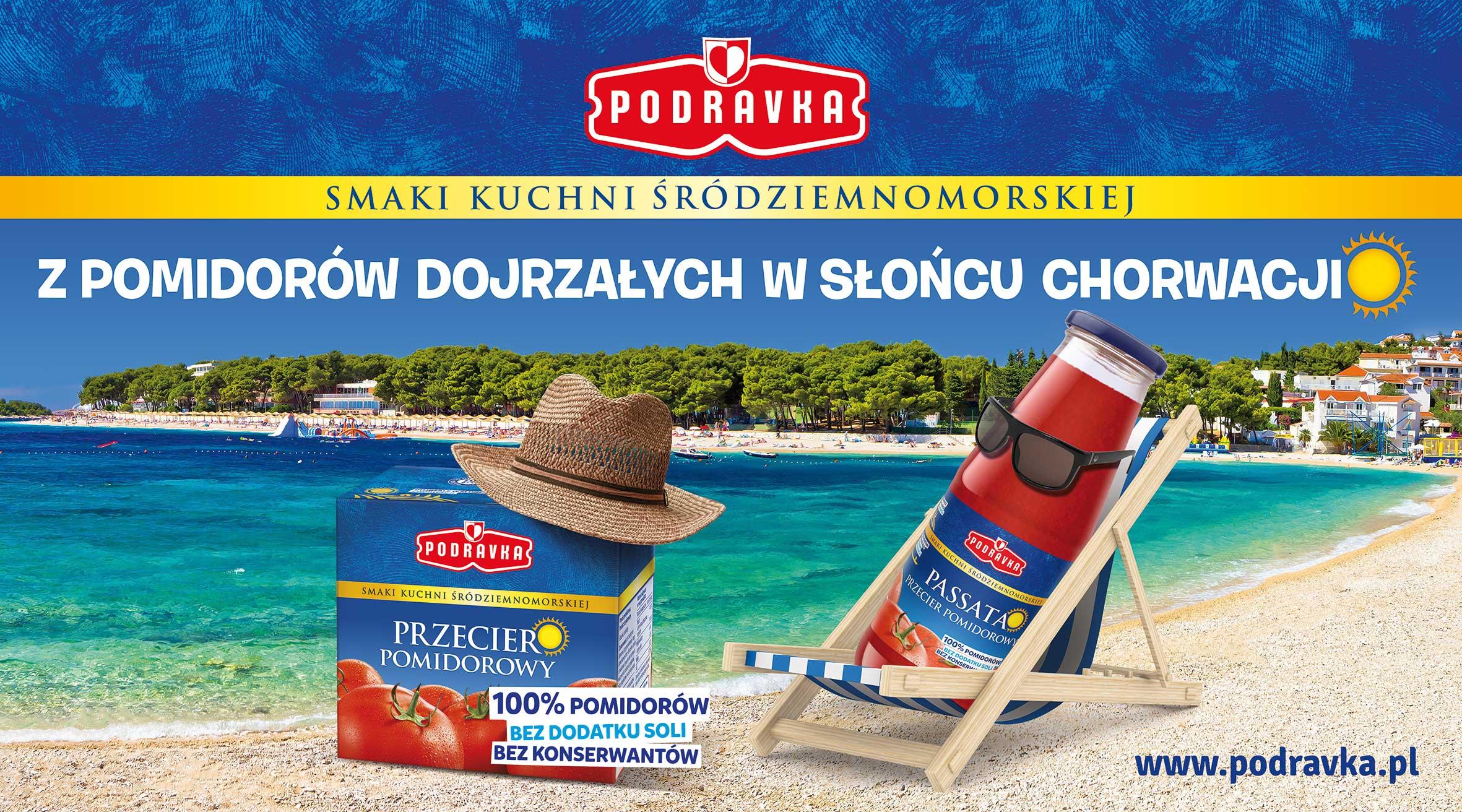 Śródziemnomorskie produkty Podravka w kampanii telewizyjnej
