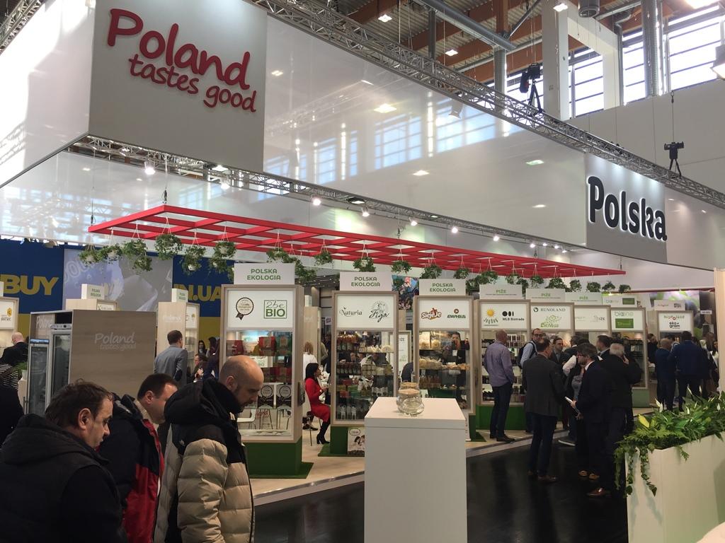 Polska żywność na targach BIOFACH