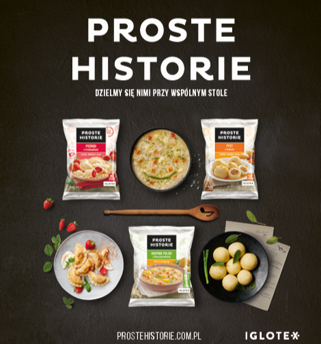 Kampania reklamowa marki i produktów Proste Historie