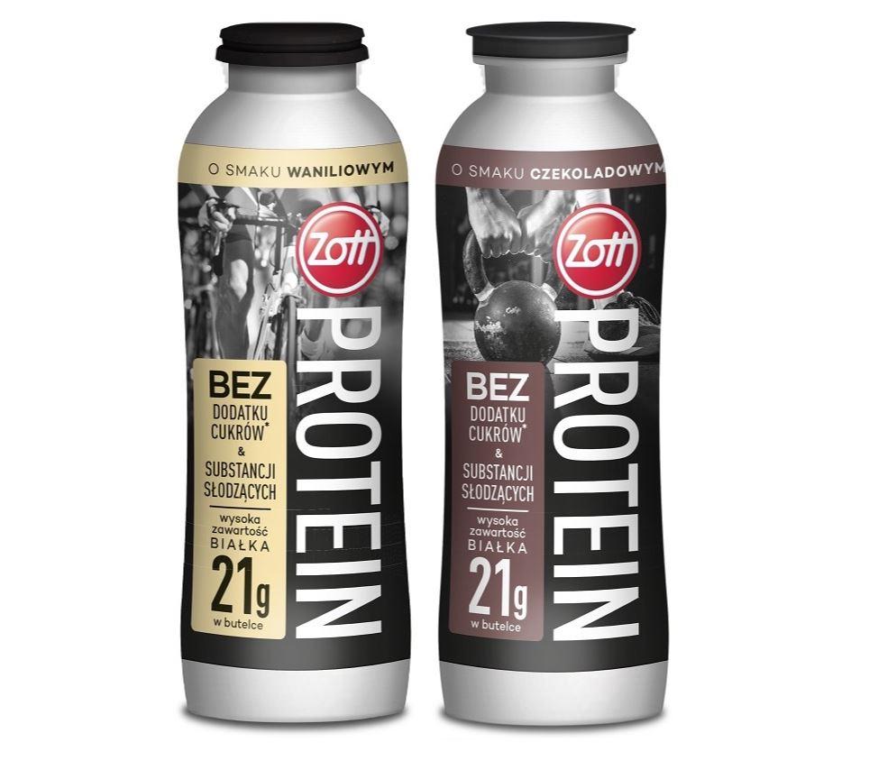 Z myślą o aktywnych – Zott Protein Drink