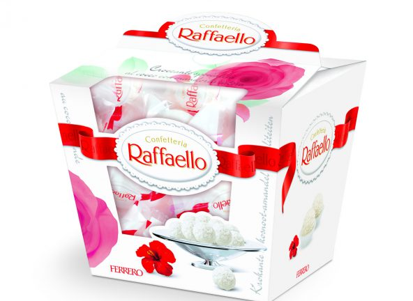 Limitowane Raffaello z różą na Dzień Matki
