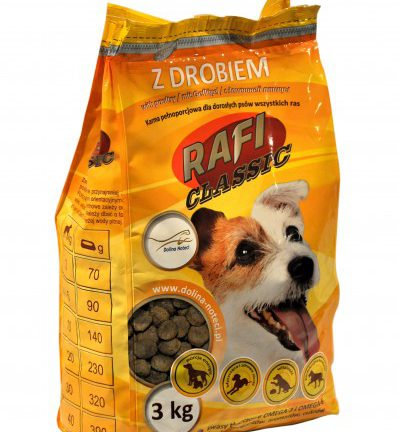 Karma sucha RAFI Classic 3 kg