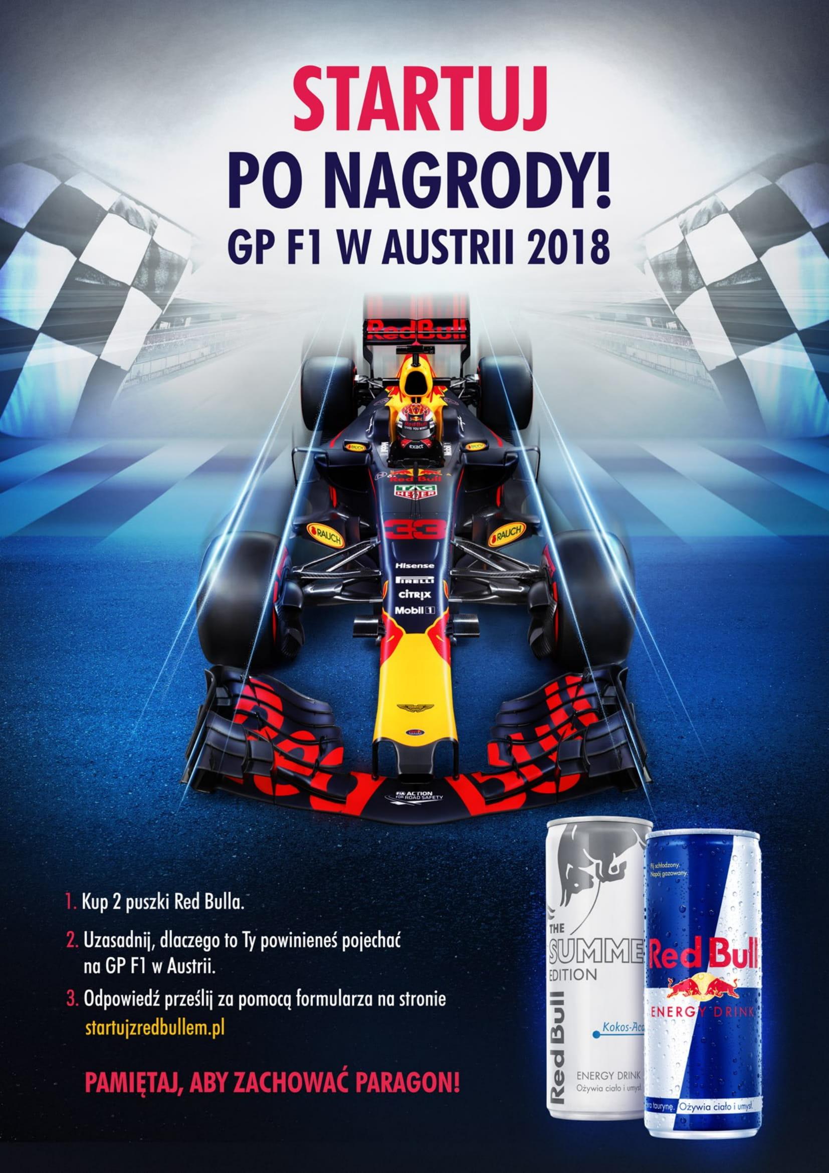 """Konkurs """"Startuj z Red Bullem"""""""