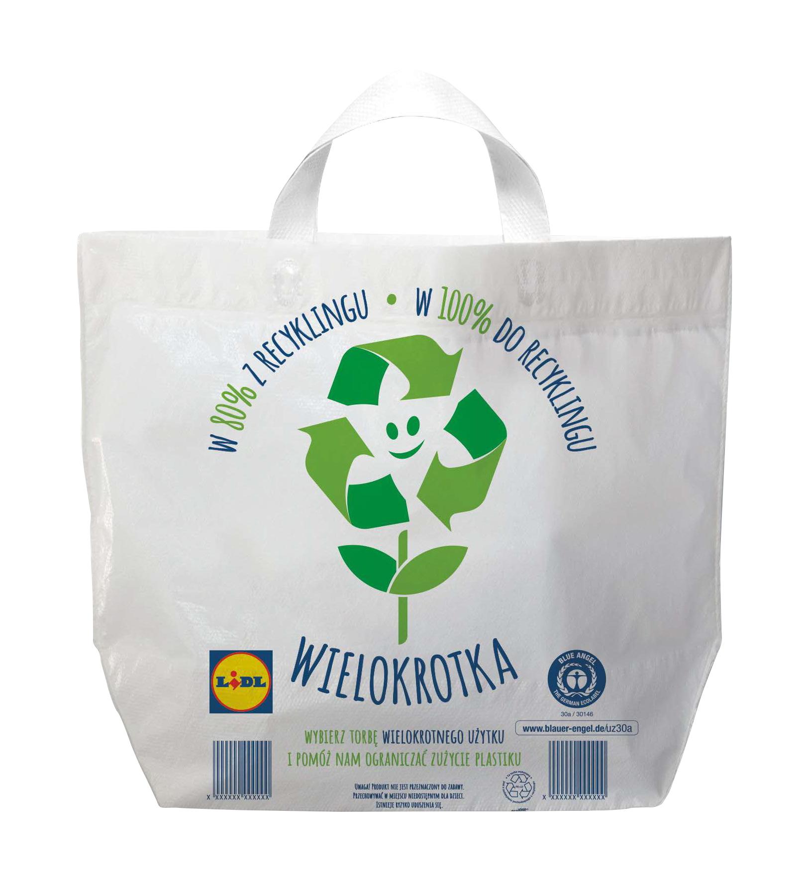 Lidl wprowadza certyfikowane torby na zakupy